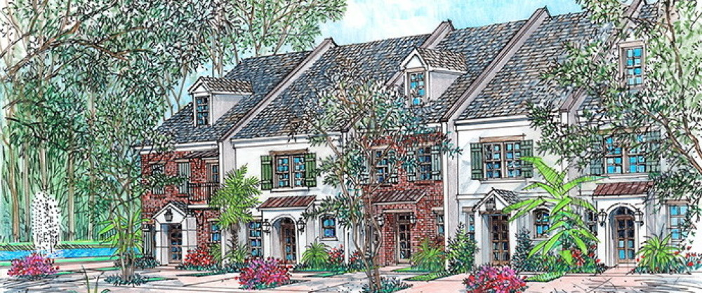 Myrtle Grove Townhomes | New Baton Rouge Luxury Townhomes Homes ...
